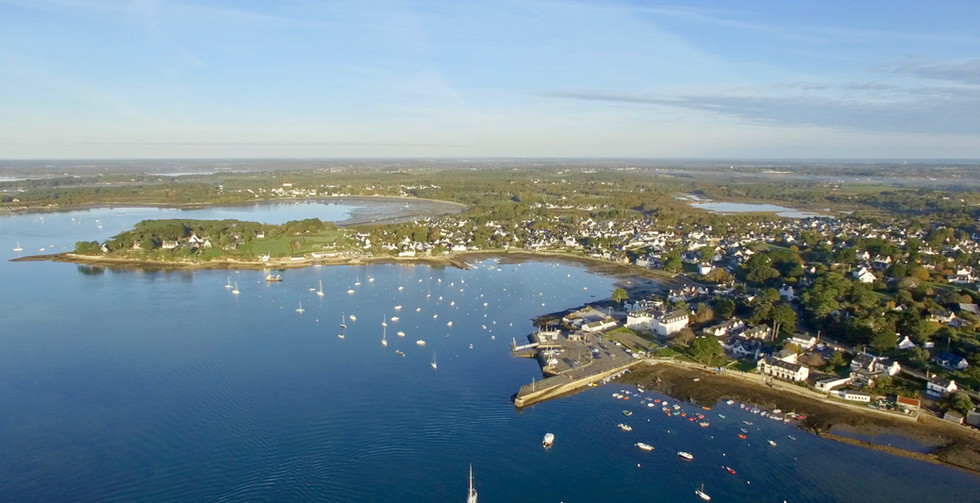 FlyUp Drone-Golf du Morbihan-Larmor Baden