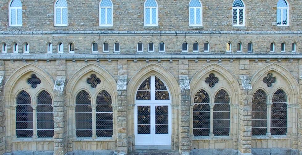 FlyUp Drone-Abbaye St Michel de Kergonan-11