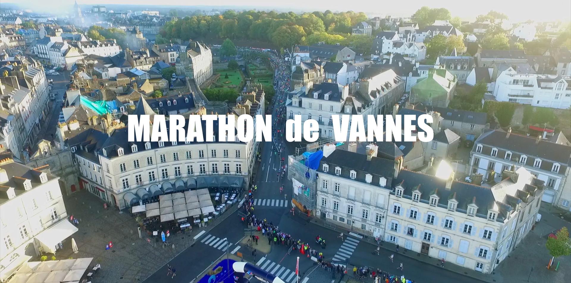 FlyUp Drone - Images aériennes du Marathon de Vannes
