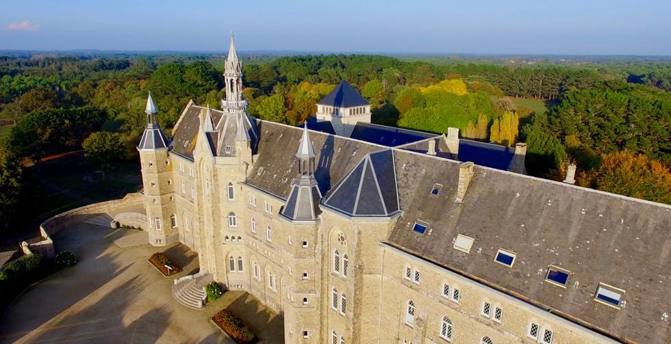 FlyUp Drone-Abbaye St Michel de Kergonan-06