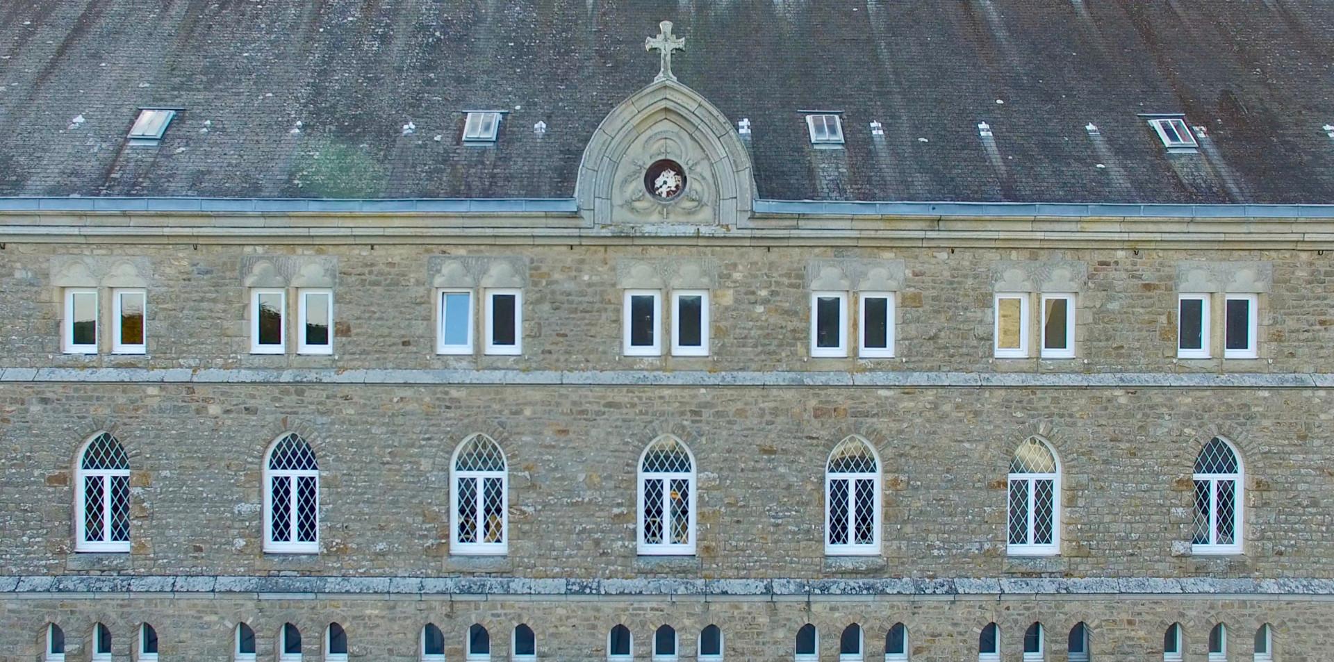 FlyUp Drone-Abbaye St Michel de Kergonan-12