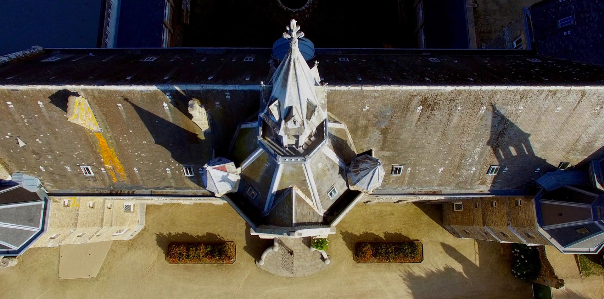 FlyUp Drone-Abbaye St Michel de Kergonan-14
