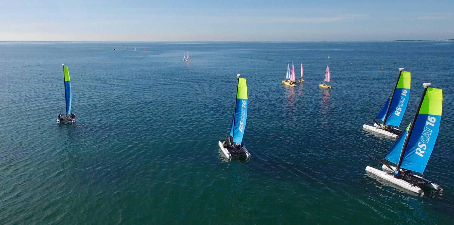 FlyUp Drone-Catamarans à Carnac