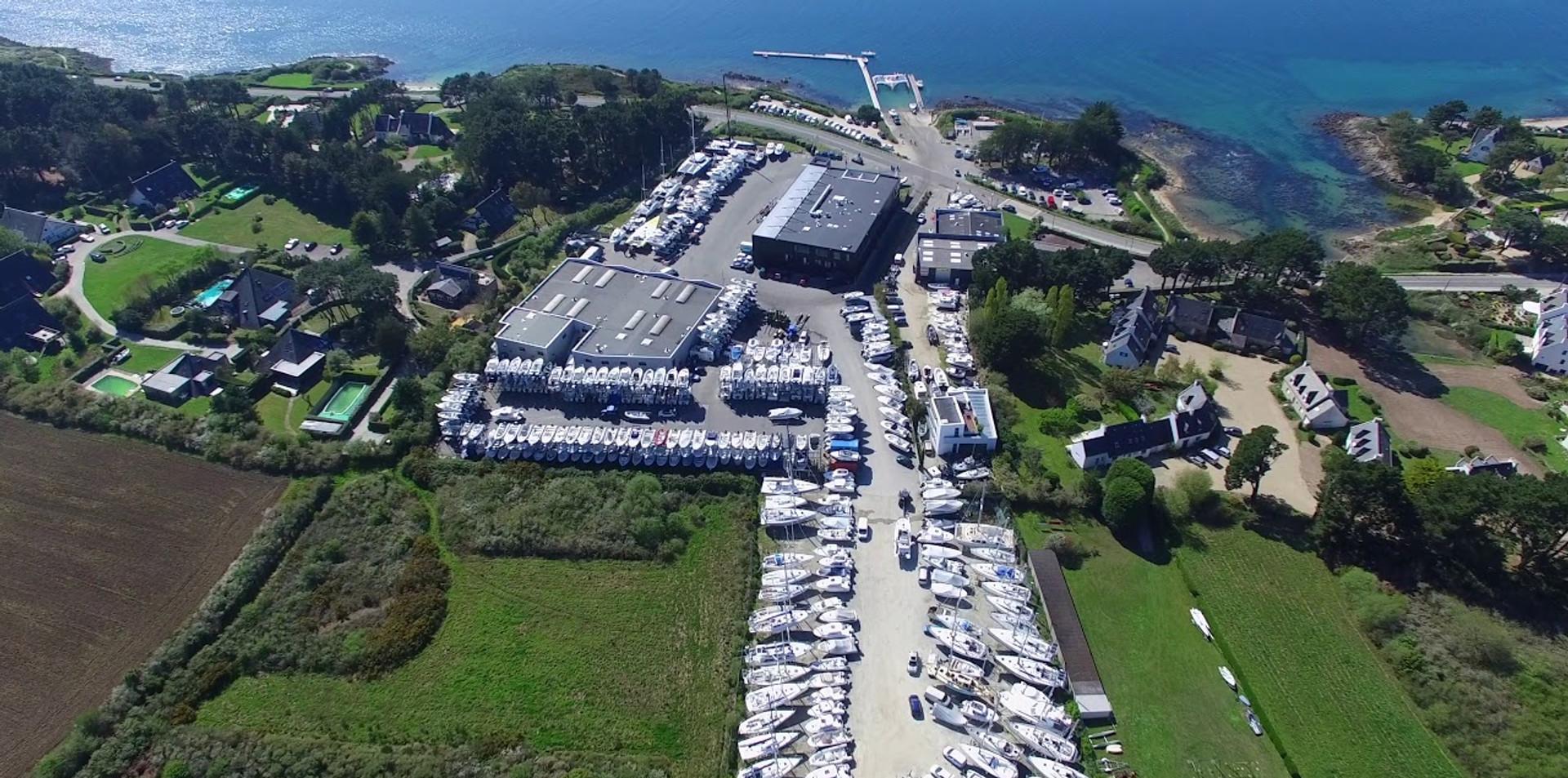 FlyUp Drone - Images aériennes de la socité No Limit Marine
