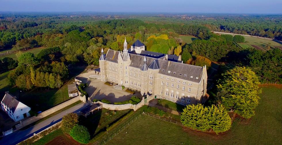 FlyUp Drone-Abbaye St Michel de Kergonan-03