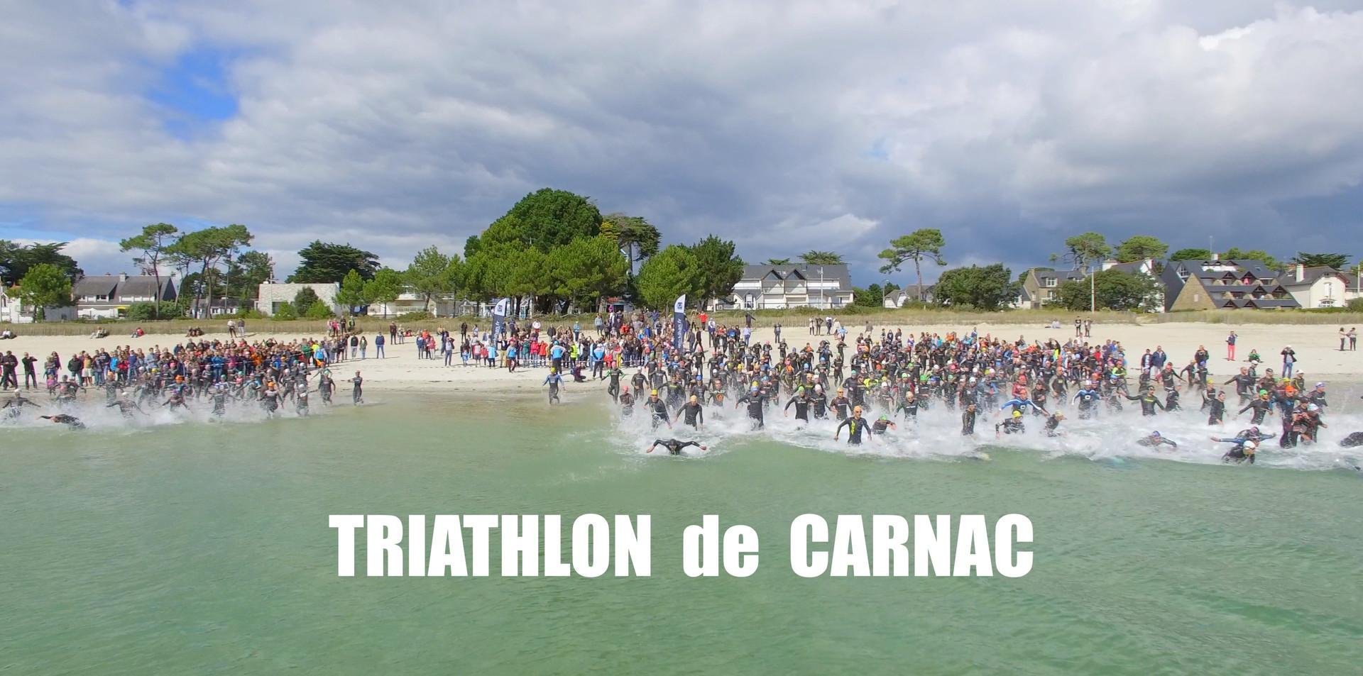 Images aériennes du FFR Beach Rugby Tour de Quiberon, du Triathlon de Carnac et du FFF Beach Soccer Tour de Quiberon