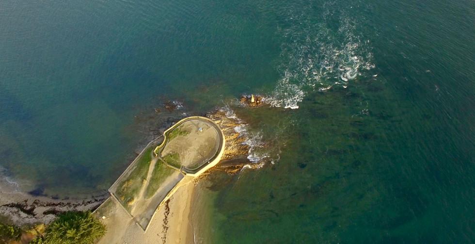 FlyUp Drone-Golf du Morbihan-Locmariaquer-Pointe de Kerpenhir
