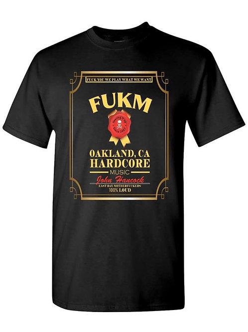 """""""FUKM"""" Black mock up"""