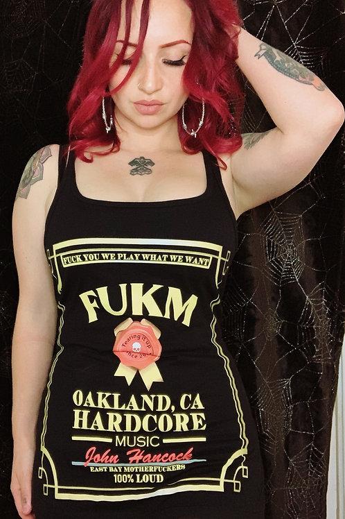 FUKM Ladies Tanks/Mini Dress