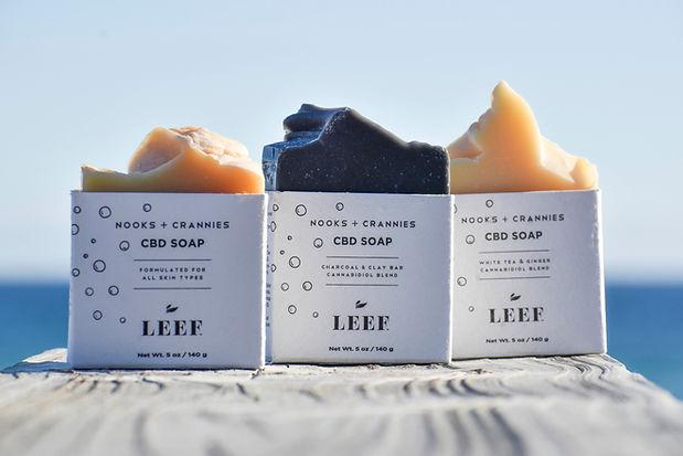 Leef CBD Soap