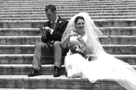 Mariagrazia and Gaetano