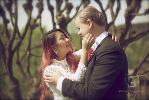 Elizabeth and Anders