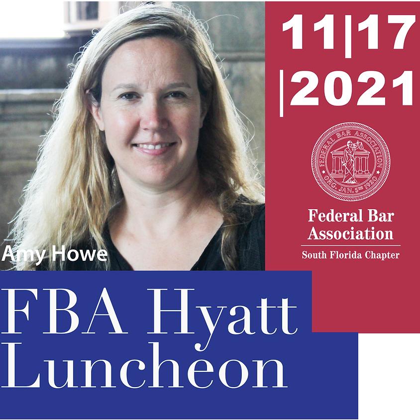 Hyatt Luncheon with Amy Howe