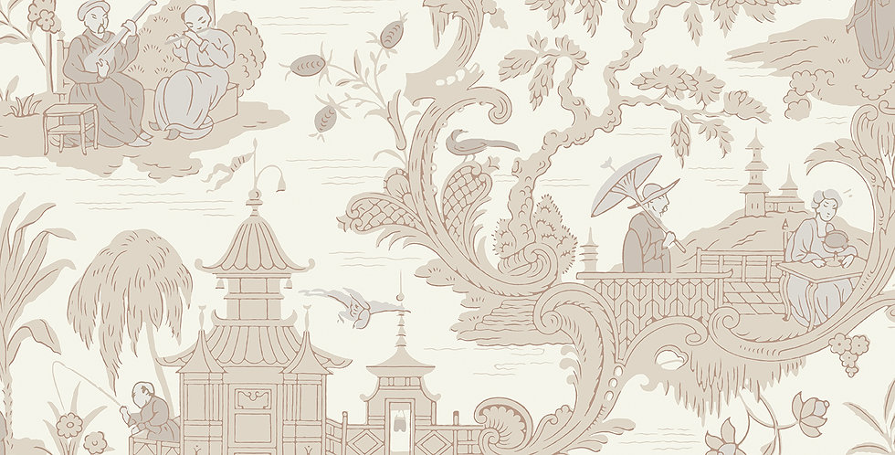 Cole & Son - Archive Anthology Chinese Toile Neutral 100/8039