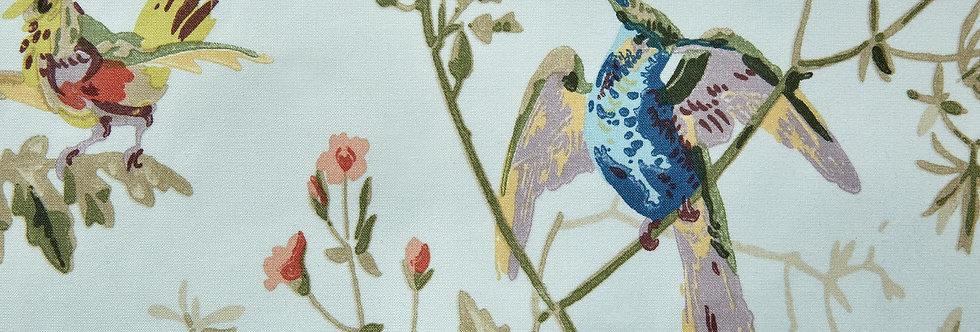 Cole & Son - The Contemp Coll Fabrics Hummingbirds Duck Egg F62/1004