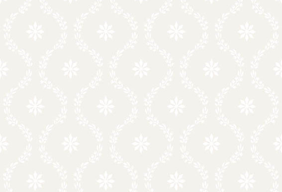 Cole & Son - Archive Traditional Clandon Off White & White 88/3012