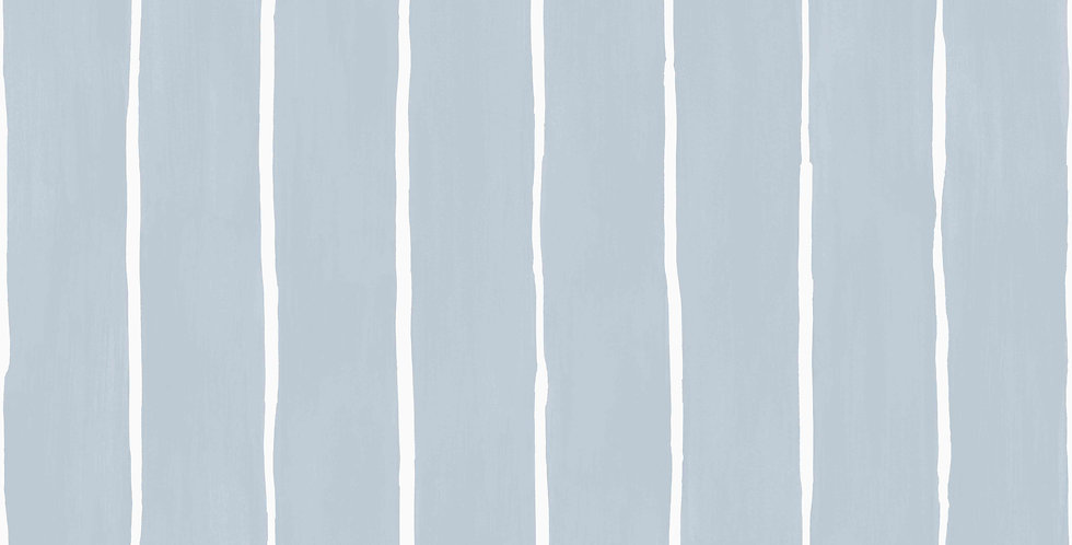 Cole & Son - Marquee Stripes Marquee Stripe Pale Blue 110/2008