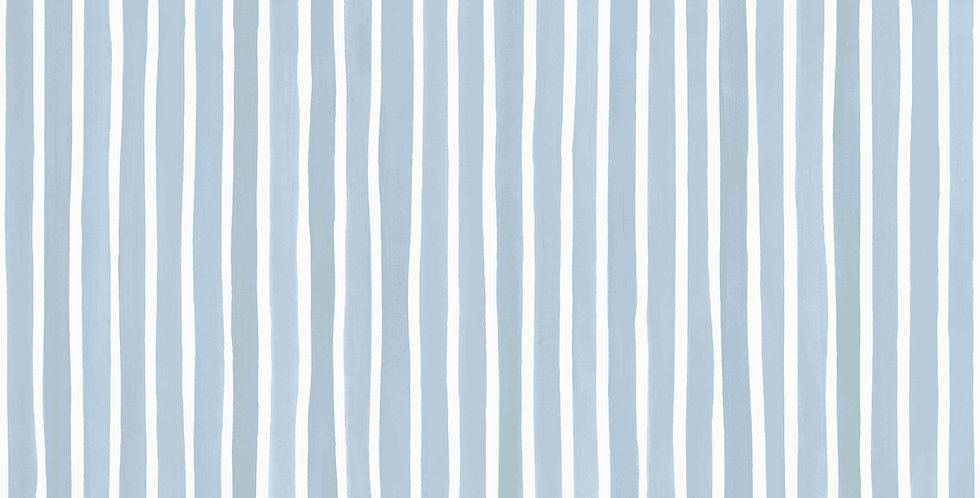 Cole & Son - Marquee Stripes Croquet Stripe Blue 110/5026
