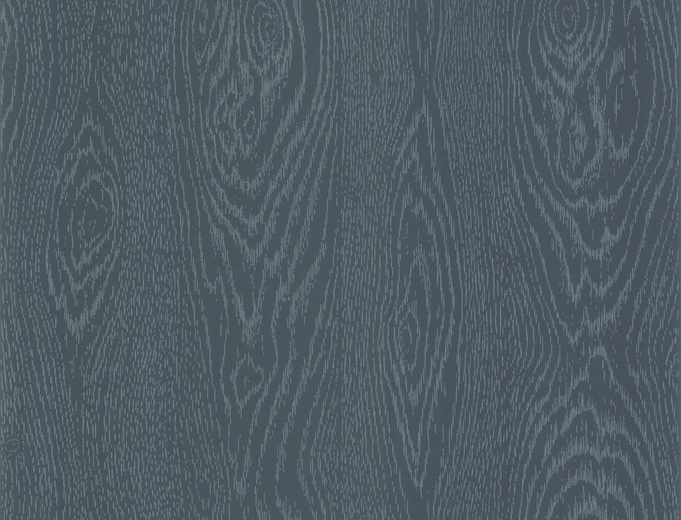 Cole & Son - Foundation Wood Grain Inky Blue 92/5027