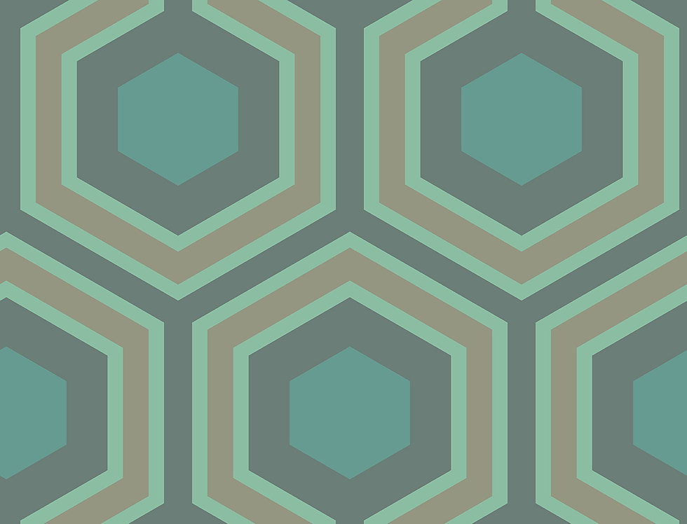 Cole & Son - Contemporary Restyled Hicks' Grand Green 95/6034