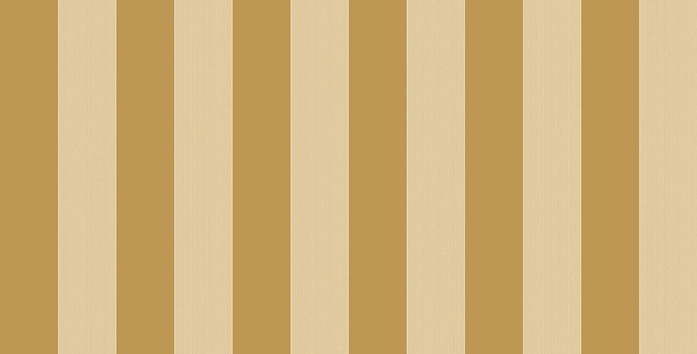 Cole & Son - Marquee Stripes Regatta Stripe Gold & Sand 110/3013