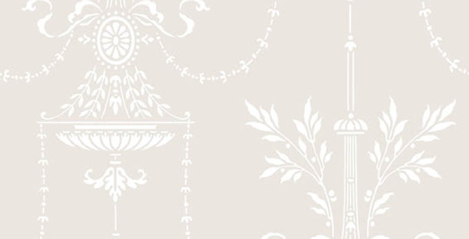 Cole & Son - Archive Traditional Dorset Water & White 88/7030