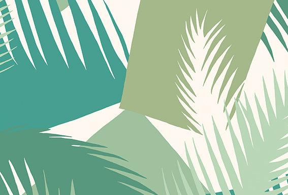Cole & Son - Geometric II Deco Palm Green 105/8037