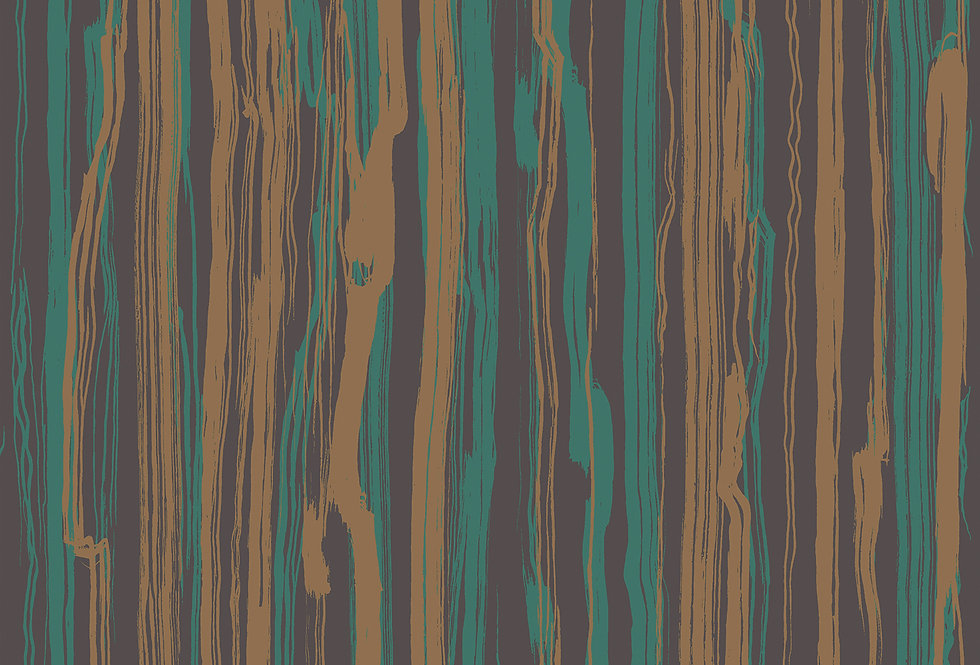 Cole & Son - Curio Strand Teal & Gold 107/7036