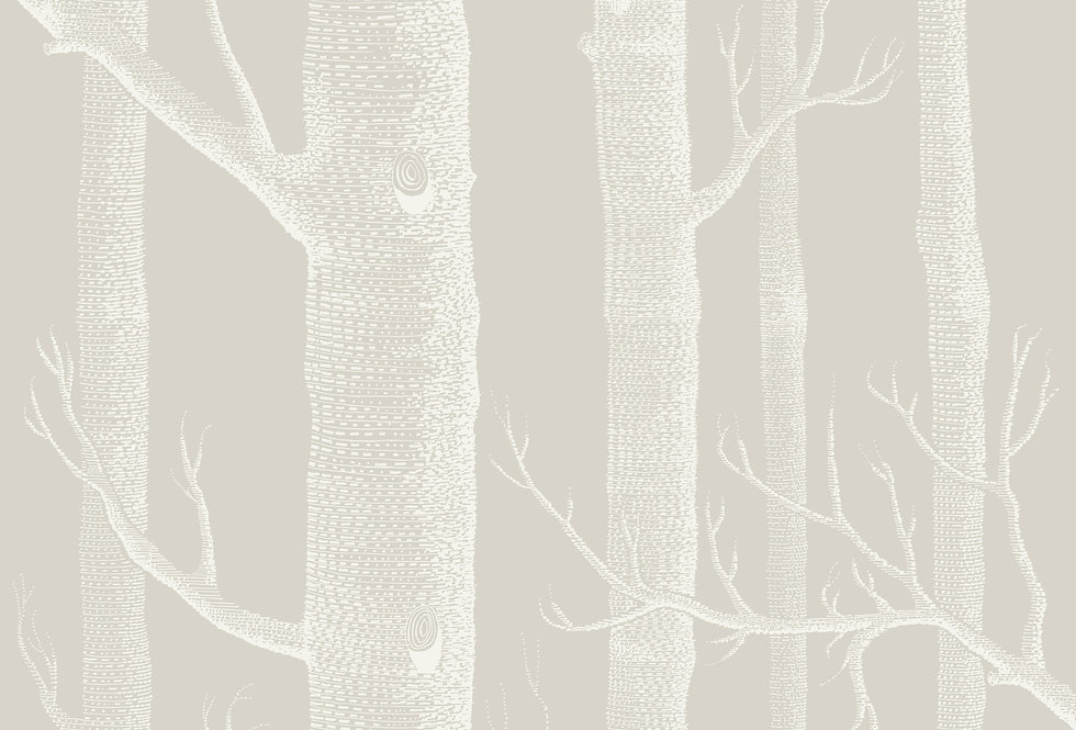 Cole & Son - Icons Woods Stone & White 112/3010