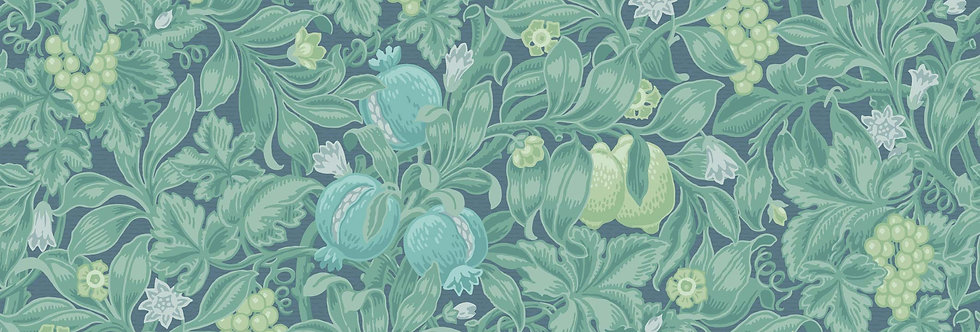 Cole & Son - The P/wood Coll Vines of Pomona Teal & Viridian on Denim 116/2006
