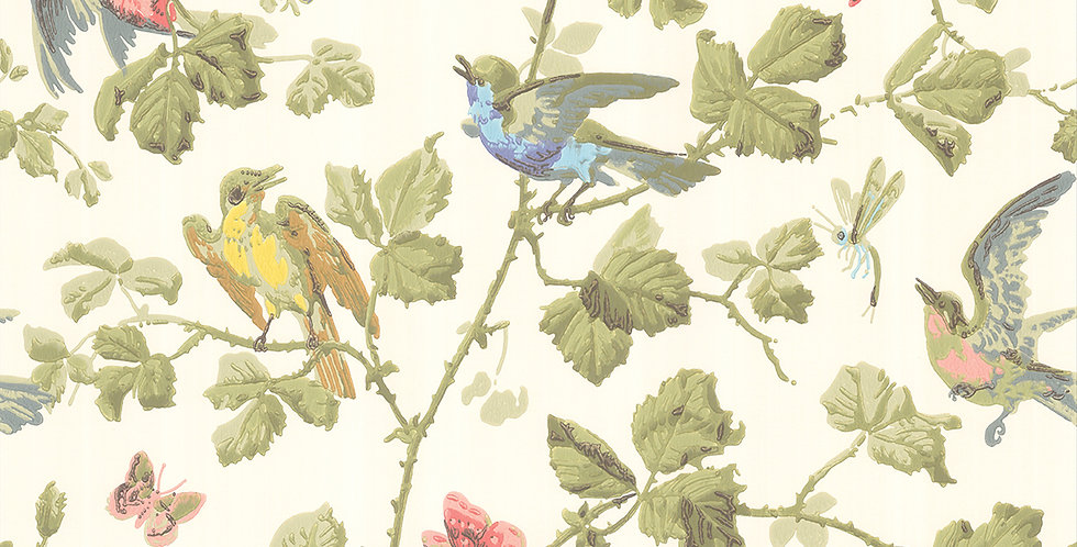 Cole & Son - Archive Anthology Winter Birds M/Coloured 100/2006