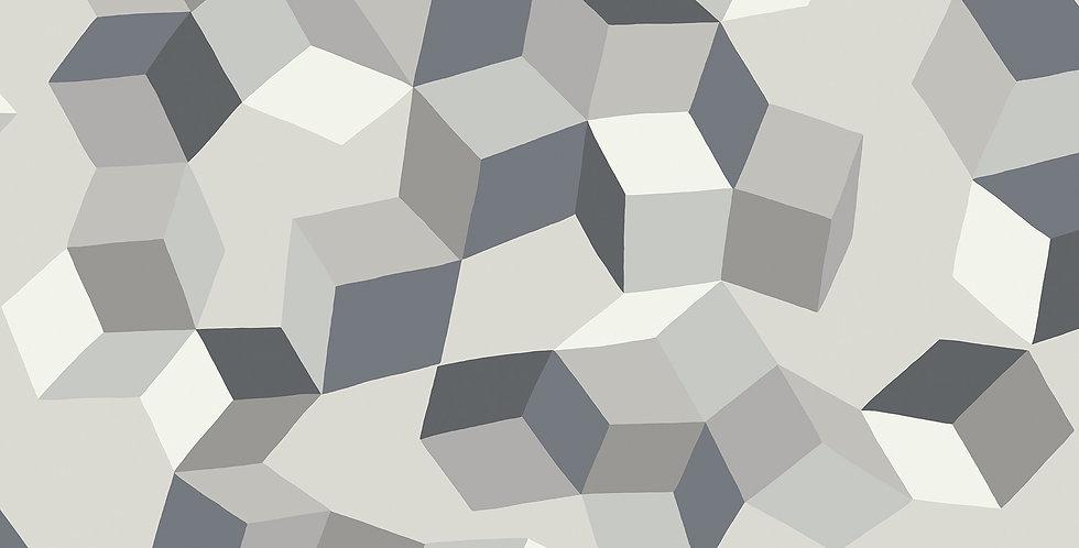 Cole & Son - Geometric II Puzzle Black & White 105/2007