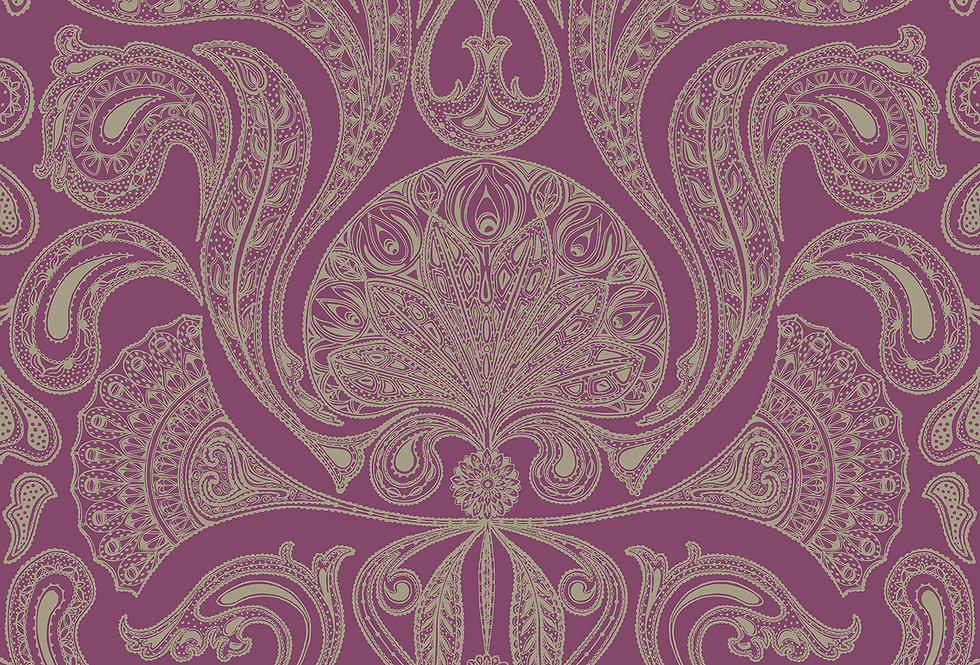 Cole & Son - New Contemporary Malabar Red 66/1007