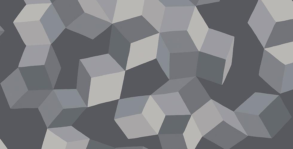 Cole & Son - Geometric II Puzzle Grey & Black 105/2011