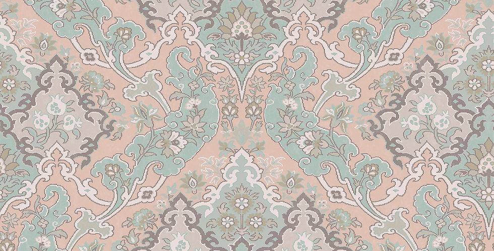 Cole & Son - Mariinsky Damask Pushkin Pastel Multi- 108/8044