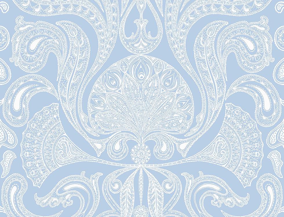 Cole & Son - New Contemporary Malabar Blue 66/1006