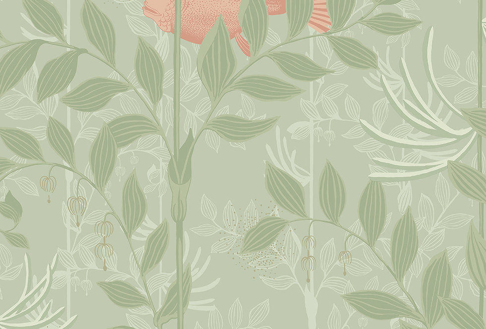 Cole & Son - Whimsical Nautilus Soft Green 103/4020