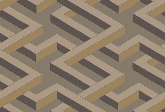 Cole & Son - Geometric II Luxor Linen 105/1006