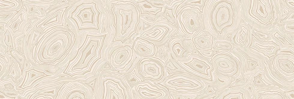Cole & Son - Fornasetti Senza Tempo Malachite Parchment & Gold 114/6011