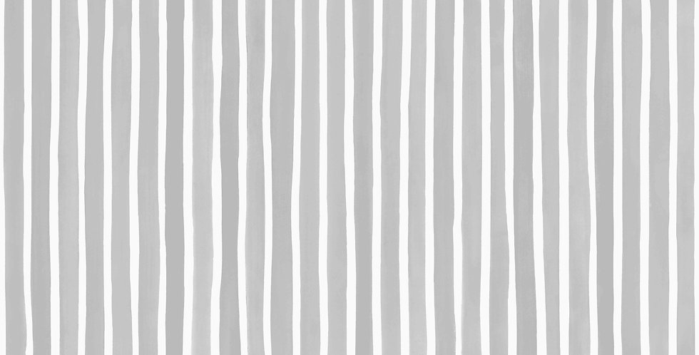 Cole & Son - Marquee Stripes Croquet Stripe Soft Grey 110/5028
