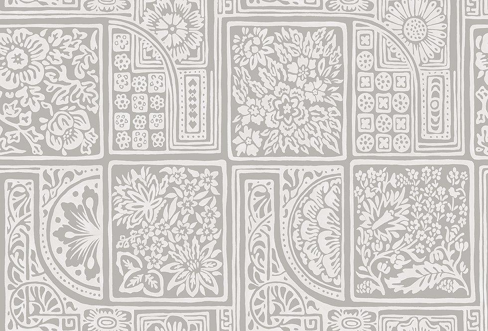Cole & Son - Mariinsky Damask Bellini Grey & White 108/9047