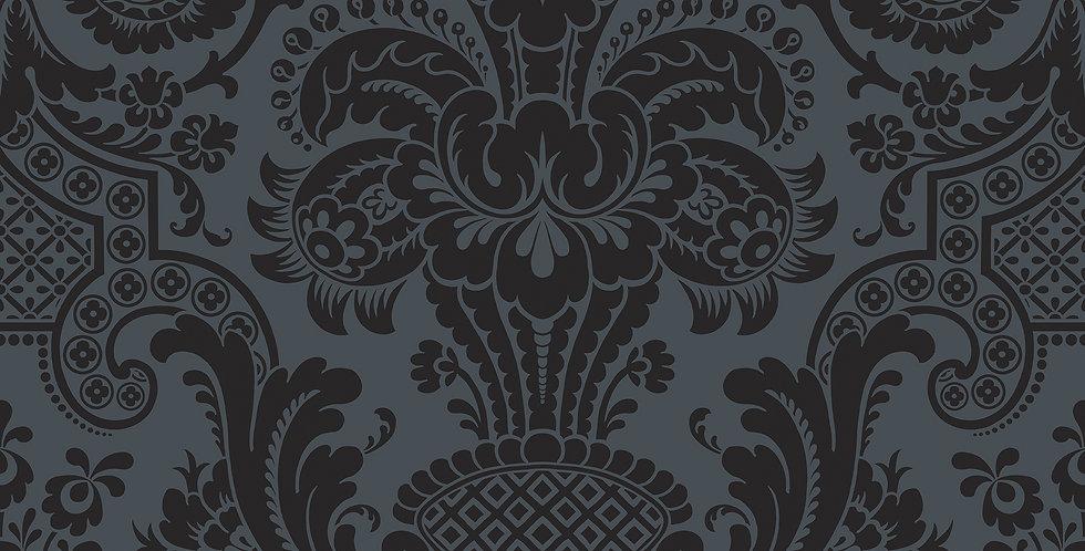 Cole & Son - Mariinsky Damask Petrouchka Charcoal 108/3013