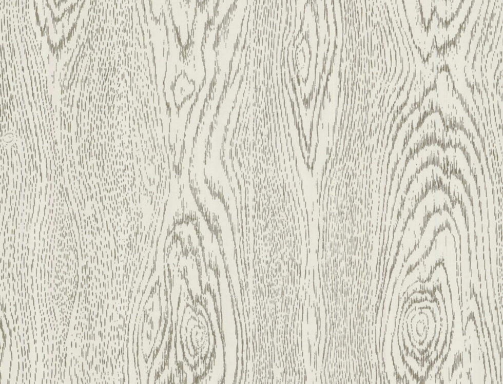 Cole & Son - Foundation Wood Grain Black & White 92/5028