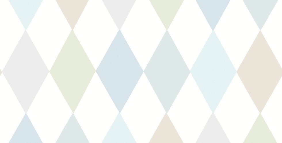Cole & Son - Whimsical Punchinello Soft Blue 103/2011