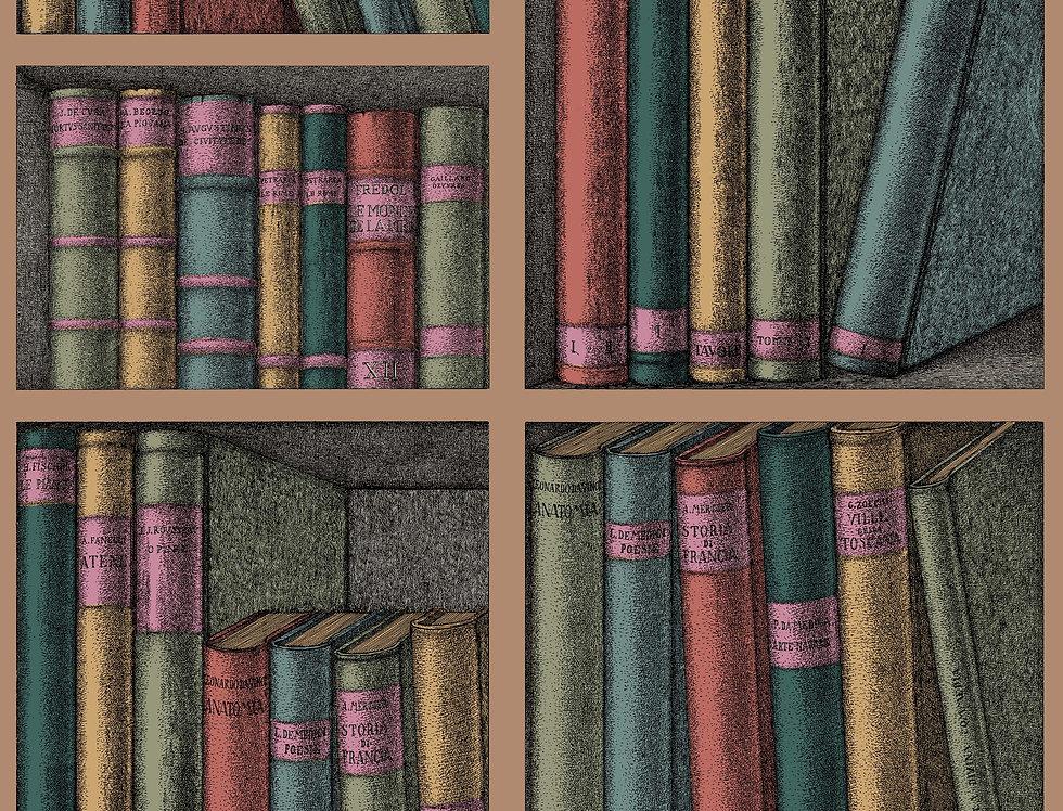 Cole & Son - Fornasetti Ex Libris Forest 114/5010
