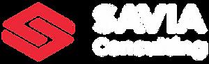 Savia Consulting Logo Horizontal White.p