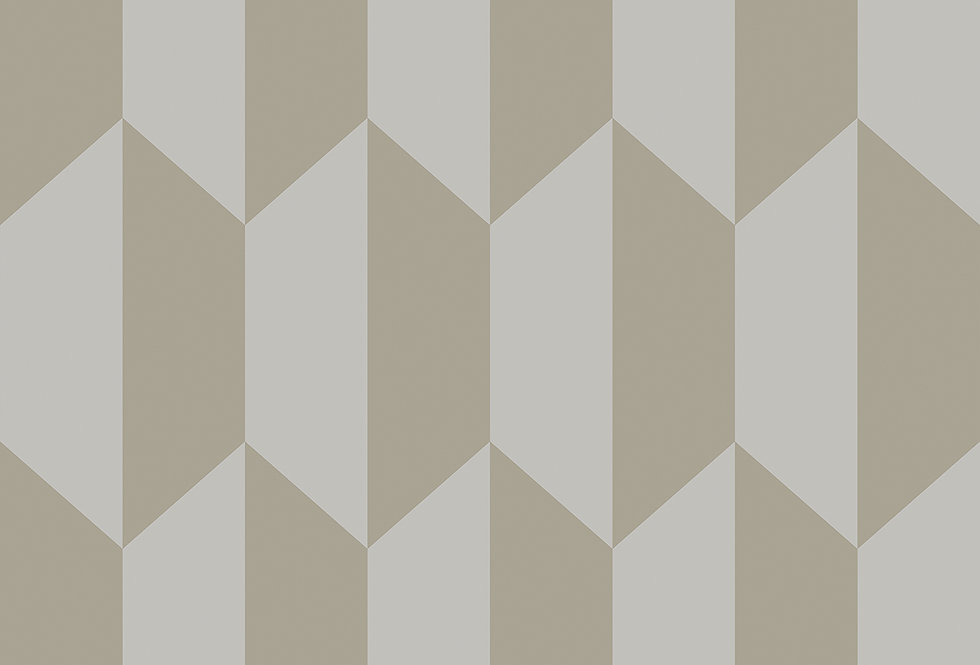 Cole & Son - Geometric II Tile Grey & Silver 105/12053