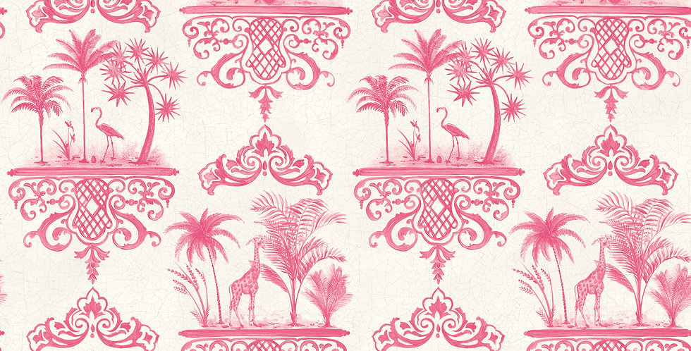 Cole & Son - Folie Rousseau Rose Pink 99/9041