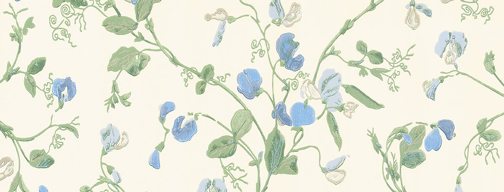 Cole & Son - Archive Anthology Sweet Pea Blue 100/6031