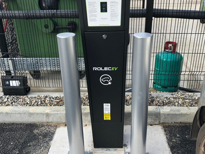 EV Charge Point at DHL Swindon